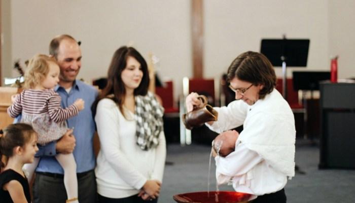 Finn's Baptism