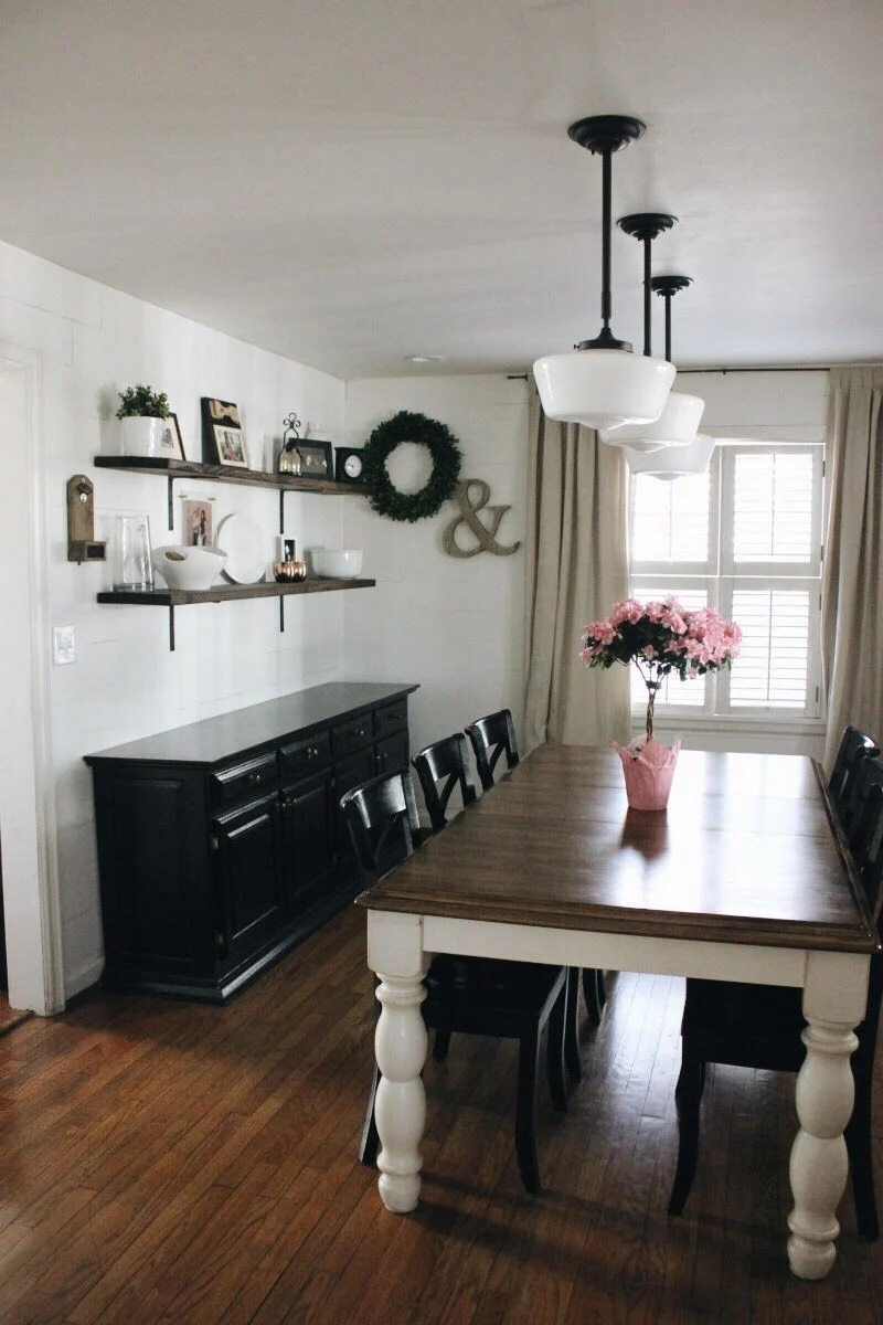 Shiplap Dining Room Reveal A Life