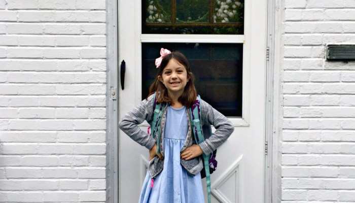First Day Of 3rd Grade!