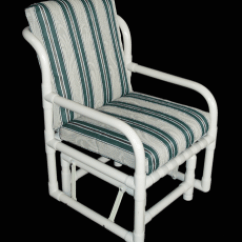 Wide Glider Chair Plush Rocking For Nursery Pvc Patio Chairs