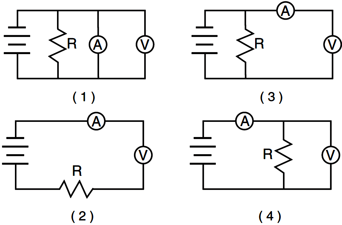 Circuit Diagram With Voltmeter
