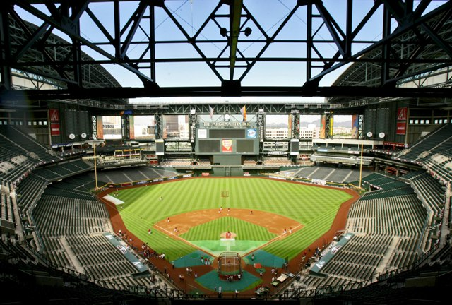 Chase Field In Phoenix ArizonaToo Hot Not To Put A