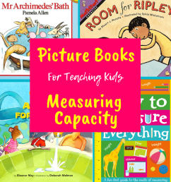 Children's Books About Capacity – A Plus Teaching Resources [ 924 x 924 Pixel ]