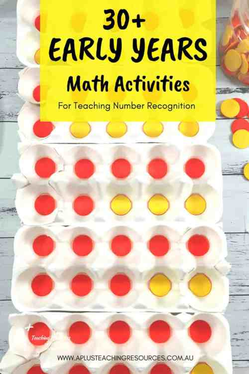 small resolution of 30+ Of The Best Activities \u0026 Games For Teaching Number Recognition!