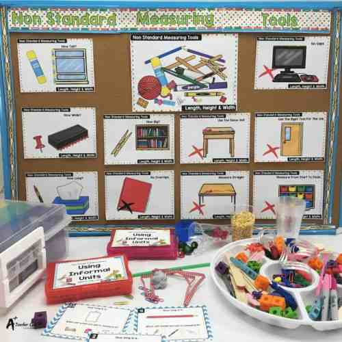 small resolution of Non Standard Measurement Activities {Our Secret Weapon!}