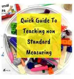 Non Standard Measurement Activities {Our Secret Weapon!} [ 924 x 924 Pixel ]