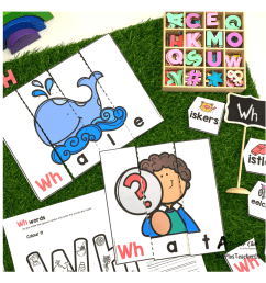Initial Digraph Puzzles Literacy Resource BUNDLE {SH-CH-WH-Th} A+ [ 924 x 924 Pixel ]