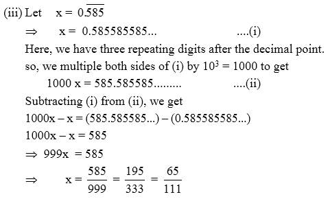 How To Convert Decimal Number Into Rational Number