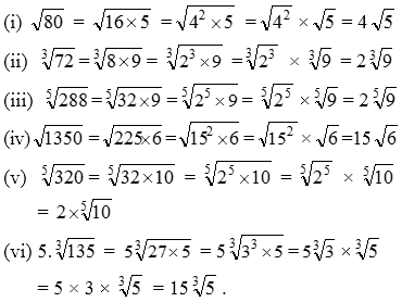 Surd-Or-Radical-Example-Problems-10 Simplest Radical Form Example on what is square root 450, how put, simplify number, square root 47,