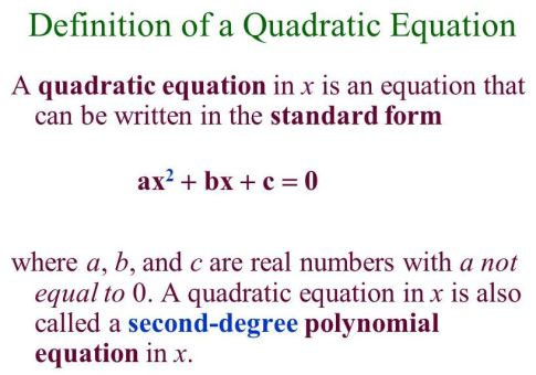 Solving Factorable Quadratic Equations A Plus Topper
