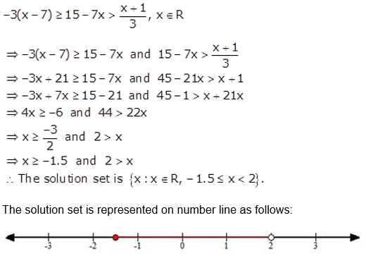 Selina Concise Mathematics Class 10 ICSE Solutions Linear Inequations (in one variable) q36