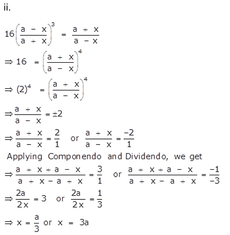 Selina Concise Mathematics Class 10 ICSE Solutions Ratio and Proportion (Including Properties and Uses) ex 7d q27.1