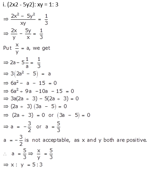 Selina Concise Mathematics Class 10 ICSE Solutions Ratio and Proportion (Including Properties and Uses) ex 7d q27