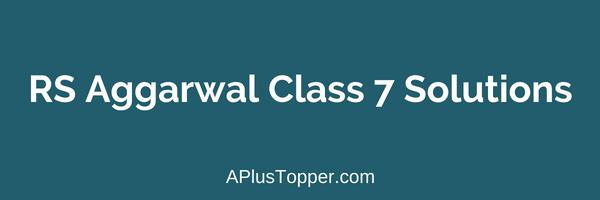 Rs Aggarwal Maths Ebook