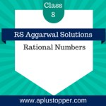 RS Aggarwal Class 8 Solutions Ch 1 Rational Numbers
