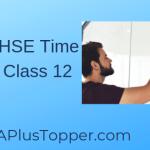 Kerala HSE Time Table Class 12