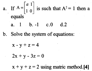 Plus Two Maths Previous Year Question Paper March 2017 Q4