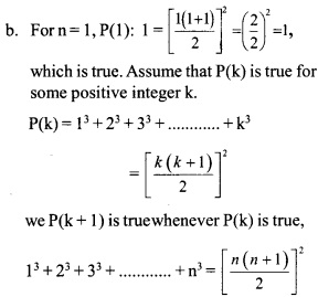 HSSLive Plus One Maths Chapter Wise Questions and Answers Chapter 4 Principle of Mathematical Induction 1