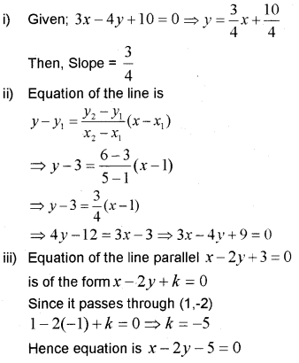 Plus One Maths Chapter Wise Previous Questions Chapter 10 Straight Lines 19
