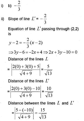 Plus One Maths Chapter Wise Previous Questions Chapter 10 Straight Lines 24