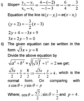 Plus One Maths Chapter Wise Previous Questions Chapter 10 Straight Lines 29