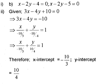 Plus One Maths Chapter Wise Previous Questions Chapter 10 Straight Lines 33