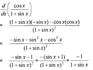 Plus One Maths Chapter Wise Previous Questions Chapter 13 Limits and Derivatives 11
