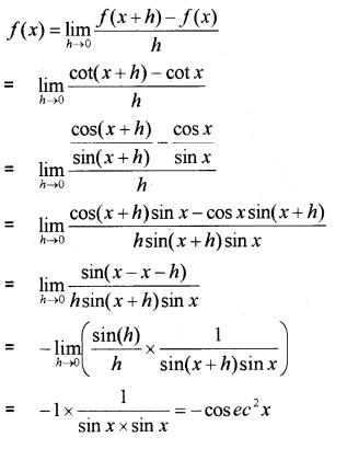 Plus One Maths Chapter Wise Previous Questions Chapter 13 Limits and Derivatives 12