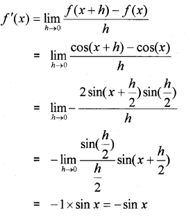 Plus One Maths Chapter Wise Previous Questions Chapter 13 Limits and Derivatives 19