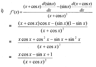 Plus One Maths Chapter Wise Previous Questions Chapter 13 Limits and Derivatives 38