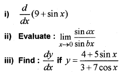 Plus One Maths Chapter Wise Previous Questions Chapter 13 Limits and Derivatives 56