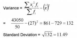 Plus One Maths Chapter Wise Previous Questions Chapter 15 Statistics 17