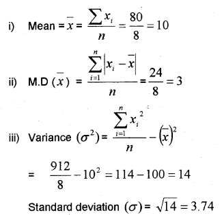 Plus One Maths Chapter Wise Previous Questions Chapter 15 Statistics 2