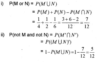 Plus One Maths Chapter Wise Previous Questions Chapter 16 Probability 5