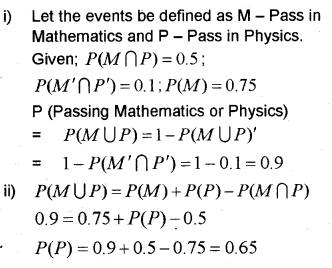 Plus One Maths Chapter Wise Previous Questions Chapter 16 Probability 9