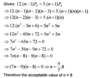 Plus One Maths Chapter Wise Previous Questions Chapter 7 Permutation and Combinations 21