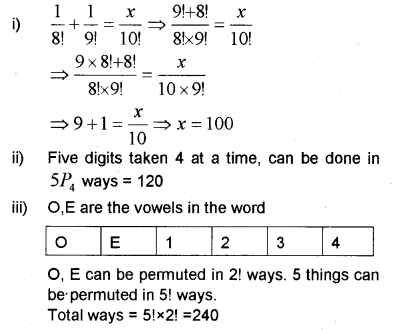 Plus One Maths Chapter Wise Previous Questions Chapter 7 Permutation and Combinations 31