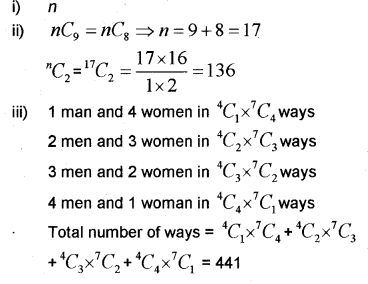 Plus One Maths Chapter Wise Previous Questions Chapter 7 Permutation and Combinations 38