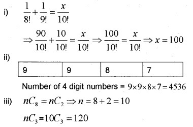 Plus One Maths Chapter Wise Previous Questions Chapter 7 Permutation and Combinations 4