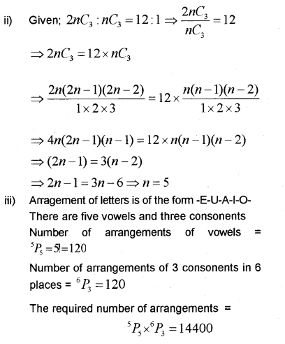 Plus One Maths Chapter Wise Previous Questions Chapter 7 Permutation and Combinations 44