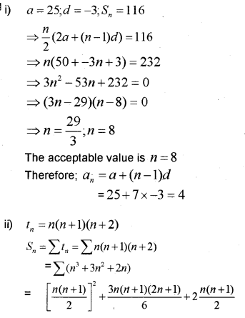 Plus One Maths Chapter Wise Previous Questions Chapter 9 Sequences and Series 28