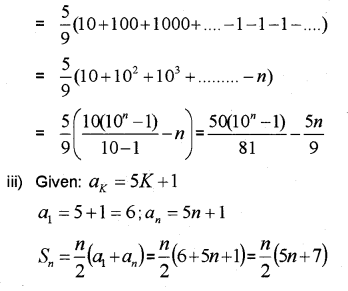 Plus One Maths Chapter Wise Previous Questions Chapter 9 Sequences and Series 32
