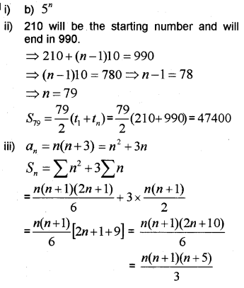 Plus One Maths Chapter Wise Previous Questions Chapter 9 Sequences and Series 34