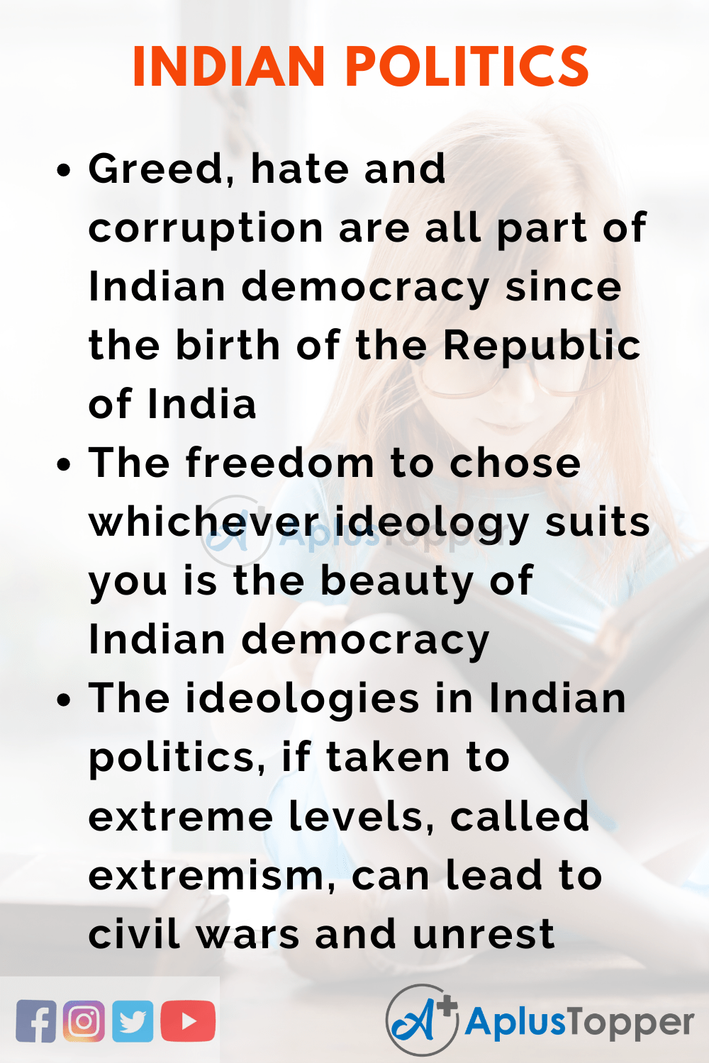 Essay About Indian Politics