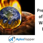 Prevention of Global Warming Essay