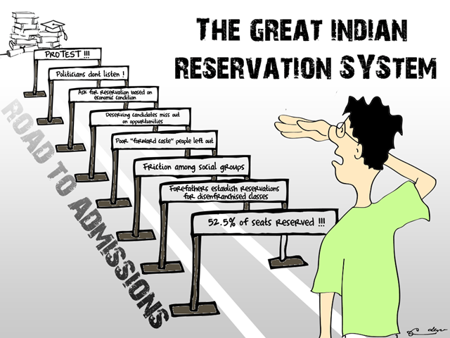 Essay On Caste Based Reservation In India