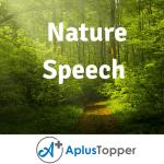 Nature Speech