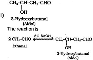 Plus Two Chemistry Chapter Wise Previous Questions Chapter 12 Aldehydes, Ketones and Carboxylic Acids 34