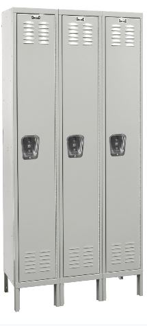 Single Tier Lockers  In Stock and ready to ship