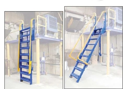 Mezzanine ladders are available at apluswhscom